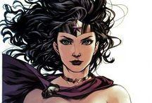 COMICS FEM HEROES VIRTUAL ART / Quadrinhos , ilustrações , arte virtual, modelos femininos