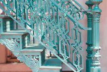 Gamle trapper og innganger