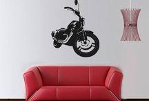 Motosiklet stickerları