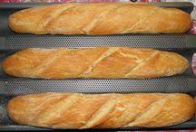 kenyerek és péksütik