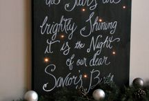 Christmas art projects / by Angela Barton