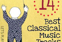 Classical Music for Kids / Activities for kids that focus on Classical Music - playlists, free homeschool units, activities and printables.