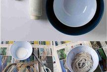 Diy bowl craft