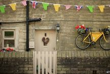 Le Tour! UK 2014 / From bicycles on the roof, to 'King of the Mountain' cottages - this summer's Tour de France kicked off in Yorkshire and inspired the nation to get crafty with recycled materials!