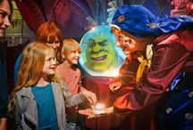 Shrek Birthday Parties / Make your child's birthday wishes come true by throwing them a truly one of a kind party at DreamWorks Tours Shrek's Adventure! London.  / by Merlin Events London