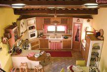 cucine in muratura / impresa Carlini