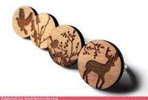 Wood jewels