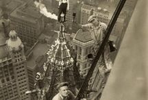 Afraid of Heights? / Construction work often requires working at perilous heights.