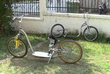 Diy footbike