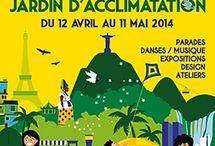 Evenement - Sensacional Brasil / Evènement Sensacional Brasil du 12 Avril au 11 Mai 2014 au Jardin d'Acclimatation