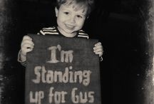 SHOUT OUTS! / Show your children that you are thinking of them and that you'll never give up the good fight!
