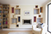 Bookcases by Creative Woodwork / Bespoke fitted bookcases designed and crafted entirely by Creative Woodwork in W3