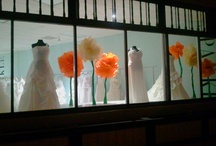 Full Bloom / Our April 2012 window display is inspired by Spring, its colors and the renewal that comes with the season. Visit. Enjoy.