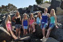 LiliKai Ambassadors / BoardShorts for Women made in Southern California www.lilikai.com