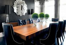 ♡ Dining Room ♡ / --->♥ Memories Are Made When Gathered Around The Table .