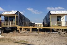 Greenbuilt LivingHome / Low-cost, prefabricated, net zero electricity LivingHome for Make It Right, the non-profit started by Brad Pitt to redevelop an area of New Orleans that was particularly hard hit by Katrina.