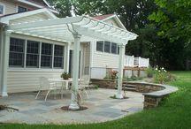 Backyard ideas / by Krystal Kramer