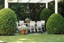 Alfresco Living / Ideas for gardens, porches, balconies, and other outdoor spaces. / by Julie