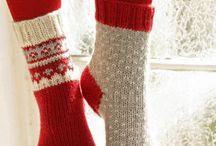 Strik tilbehør / Huer, vanter, sokker osv