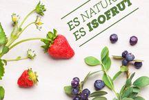 Es Isofrut / Es chileno, es Isofrut.  Berry Mix-Piña-Uva Piña-Frutilla Plátano-Durazno Conservero-Manzana
