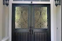 Favorite Doors Installed / Photos of Door's that we have custom built and installed.