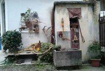 Cortili  e.....dintorni / Paesaggi...rustici... particolari   ineremti  alla vita di campagna....