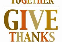 Give Thanks / Holiday inspiration / by Leslie Copp