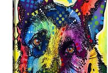 For the love of pets / Things and ideas with pets.. accessories, clothing, paintings and much more