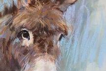 Maľby - zvieratá