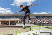 Nyjah Huston / This is Pins of Nyjah Huston because he is my favourite Skateboarder.