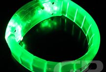 Glow Green! / Green themed Glowing Products for the themed Glow Party or Lighted Event! Brighten the birthday party or the color themed event with fun and bright green themed glowing items! #Green #Glow