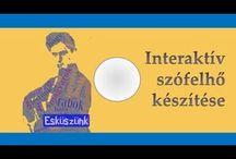 Interaktív szófelhő