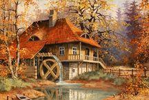 Cottages et villages