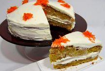 Pastel de zanahoria / Pastel de zanahoria fácil receta casera, paso a paso.  http://www.golosolandia.com/2014/07/pastel-de-zanahoria.html