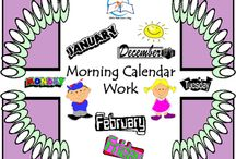 Morning Calendar Work / Morning Calendar Work. Calendar time is a daily routine for many schools. The way you begin your day is so important. The routine of calendar work sets the tone for the rest of the day. I hope your students/child love this resource!