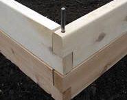 raised bed ideas for veg garden
