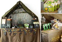 Army Camouflage Party Ideas / by Kara's Party Ideas .com