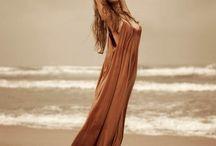 Beach fashion shoot