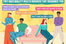 Adolescent Reproductive Health / Adolescent Reproductive Health - Infographic