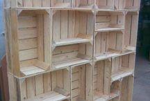 Hacer muebles con materiales reciclados