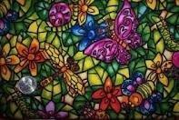stained glass / by Lisa Mayer