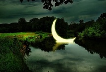 I SEE THE MOON... / I wonder just how many poems and songs and stories have been written about the moon?  It is at once a mystery to a child, an comfort to some, and a romantic setting for lovers.  Beautiful!