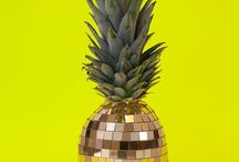 Trend - Pineapple / Ananas / Pineapple and pattern