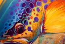 Fly Fishing Art / Beautiful Fly Fishing Art