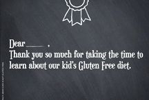 The Gluten Free Student / Whether it's elementary or undergraduate, school can be a tricky place to navigate a gluten free diet. Here are some helpful tips on keeping a safe and nutritious diet outside the home.  / by Gluten Freely