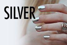 Silver Nail Art & Nail Designs