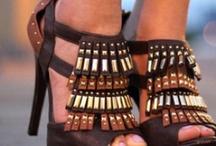 High heels..