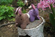 BUNNIES!!! / patterns to make bunnies for MirabelBun-Anza