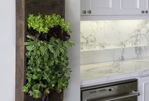 kitchen vertical interior herb garden & kitchen splashback carrara white