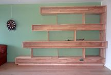 Menuiserie et bricolages de débutant DIY / Quelques réalisations de débutant en menuiserie ou en bricolage d'appartement.